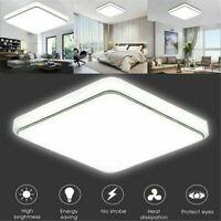 12W 24W Square LED Ceiling Down Light Flush Mount Kitchen Bedroom Fixture Lamp