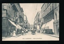 France CANNES Rue d'Antibes c1900s PPC