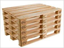 N° 10 Bancali in legno 120x80 Pedana Pallet Bancali EUR  EPAL nuovi grezzi