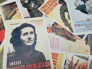 GIORNALI DI GUERRA Riproduzioni manifesto poster locandina propaganda pubblicità