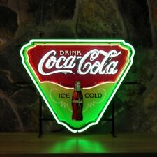New COCA COLA 50's American Style Retro Neon Diner Sign For Hanging Or Standing