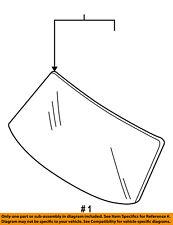 FORD OEM-Windshield Glass 8L8Z7803100A