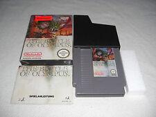 Battle of Olympus nes juego completo con embalaje original y guía