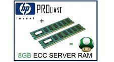 8GB (2x4GB) de RAM upgrade de memoria ECC para servidor HP Proliant ML110 G6/G7