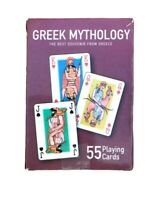 Greek Mythology Ancient God 55 Playing Cards Deck Collectable