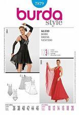 Burda Ladies Sewing Pattern 7879 - Misses Dance wear Dress Sizes: 10-20