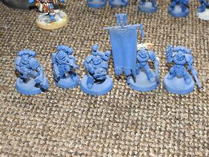 space marine command squad apothecary company ancient 40k