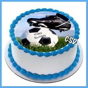 Tortenaufleger Fußball 012
