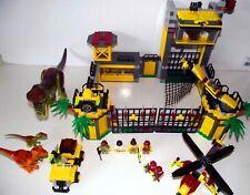 Lego Dino 5887: Dino Defense HQ (2012) 100% Complete (NO BOX)