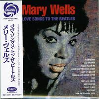 MARY WELLS-LOVE SONGS TO THE BEATLES-JAPAN MINI LP CD C94