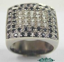 14k White Gold And Diamond 1.4ct Designer Ring Size 7