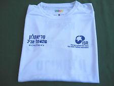 ISRAEL TEL AVIV : 2016 TRIATHLON - L WHITE T-SHIRT ! AUTH. NEW.UNIQUE. AMAZING.