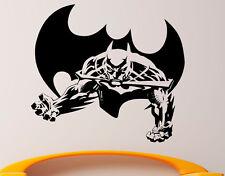 Batman Wall Vinyl Decal Superhero Sticker DC Comics Superman Art Decor (8jbat)