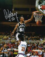 David Robinson Autographed Signed 8X10 Photo Spurs HOF REPRINT