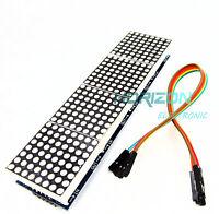 MAX7219 dot matrix module Arduino microcontroller module 4 in one display best