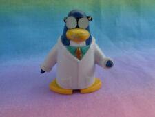 Disney Club Penguin Gary the Gadget Guy Scientist PVC Figure - as is