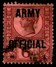 1901 Great Br 00003D90 itain #O58 Army Official Wmk 30 - Used - Vf - Cv$47.50 (Esp#3795)