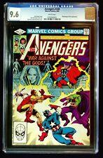 Avengers #220 CGC 9.6 Hall Breeding Moondragon Drax Thor Iron Man Capt. America