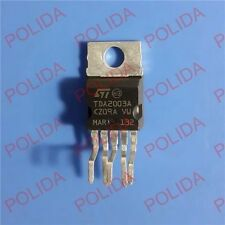 10PCS AUDIO AMPLIFIER IC ST TO-220-5 TDA2003A TDA2003AV