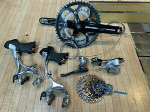 Shimano Sora complete groupset with FSA Crankset and BB. 9 speed road set-up.