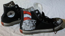 Dr. Seuss Chuck Taylor Size 6 Cat in the Hat shoes Converse All-Star