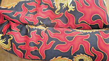 Red Dragon Flame Neck Shoulder Flax Seed Aromathapy Herb Pillow Hot or cold use