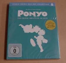 Blu Ray - Ponyo - Das grosse Abenteuer am Meer - Studio Ghibli Coll. - Neu OVP