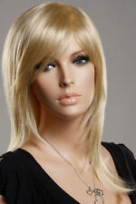 FIXSF272  new style very long blonde straight cosplay wigs for women hair wig