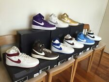 NIB Color Of The Month Pack +3 Air Force 1 Retro QS High 9 white Purple Gold Hi