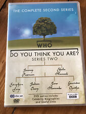 Who Do You Think You Are? DVD The Complete Series Two Second Series 2