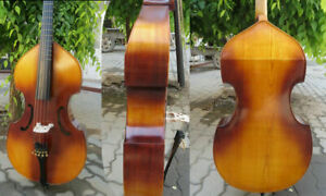 """SONG Brand 5 strings viola da gamba 25 1/4"""" with frets.great sound"""