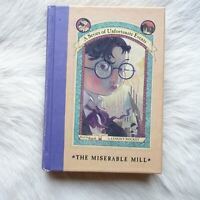 THE MISERABLE MILL A Series of Unfortunate Events #4 2000 FICTION Mystery HUMOR