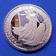 Britannia .999 Silver BU £2 Coin 2013 Coloured London Sights Edition Box & CoA