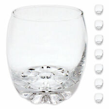 8 x Whisky Glass 255 ml Scotch Lens Drinking