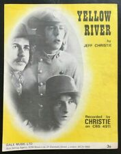 Yellow River, Christie, Sheet Music (#27)
