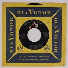 THE CUMMINGS SISTERS: Instead of Going Steady RCA '58 Teen Rock Pop 45 NM Hear
