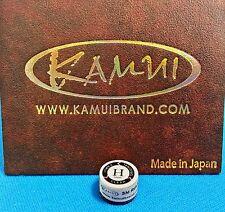 (1) Genuine H KAMUI BROWN CLEAR Pool Cue Tip ( HARD ) - w/ serial number
