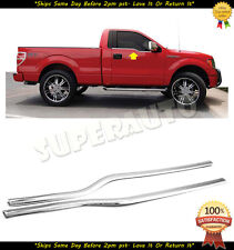 Chrome Window Sill Covers Trims Overlays For Ford F-150 2009 10 11 12 13 14