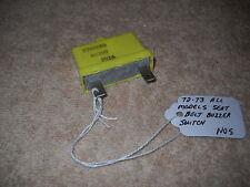 NOS Mopar 1972-1973 Plymouth Dodge Chrysler All Seat Belt Warning Buzzer Switch