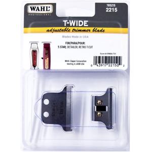 Wahl 5 Star T-WIDE adjustable Detailer, Retro and Detailer Li Trimmer Blade 2215