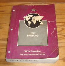 Original 1997 Ford Mustang Shop Service Manual 97