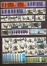 U.K.(QE2)-More unused commemorative sets (1964-1966)