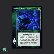 1x Pentex Subversion - Vampire Eternal Struggle VTES Jyhad