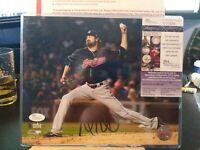 Andrew Miller Cleveland Indians signed autographed 8x10 photo JSA COA