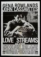 Manifesto Love Streams John Cassavetes Gena Rowlands 1984 M290