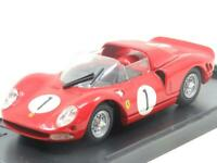 Model Box Diecast 8448 Ferrari P/2 Nurgburgrng 1965 Red 1 43 Scale Boxed
