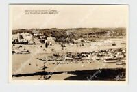 RPPC REAL PHOTO POSTCARD WASHINGTON SEATTLE OVERLOOKING UNIVERSITY CAMPUS AND YA