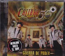 Calibre 50 Guerra de Poder Mexicano hasta el Tope CD New Nuevo Sealed