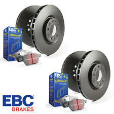 EBC OE Replacement Front & Rear Brake Disc & Pad Kit - PD40K518