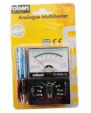 Lettura analogica Multimeter Multi Meter Tester circuito elettrico AC DC Rolson